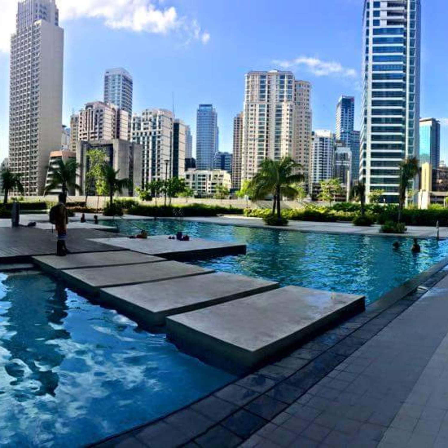 Newly furnished one bedroom in Jazz residences, short term apartment ...