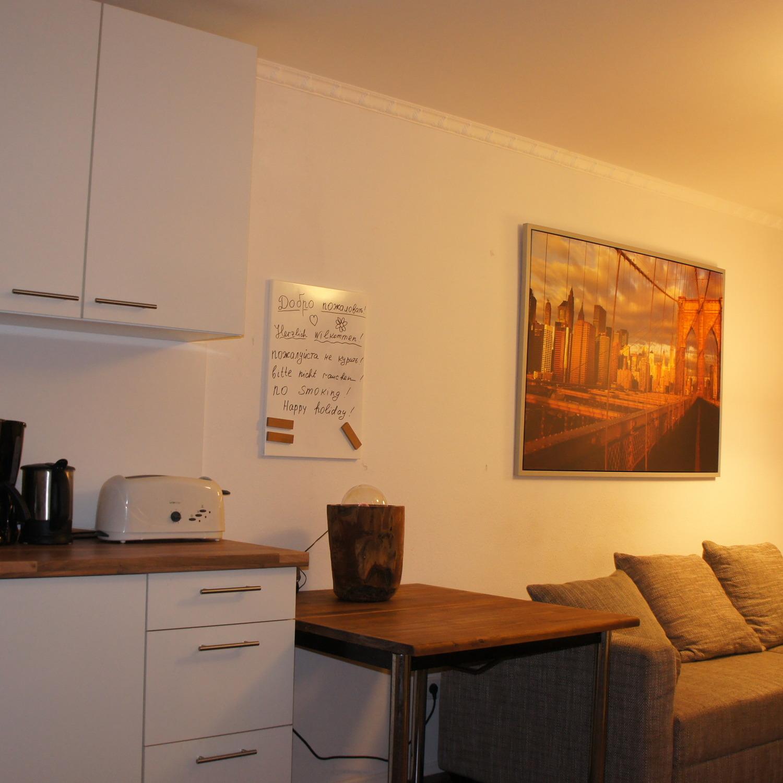 Moderne Zwei-Zimmer-Wohnung mit Skylineblick,, short term apartment ...