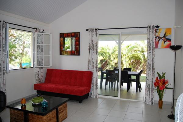 Villa avec Jardin, 3 min des plages, Sainte Anne, short term ...