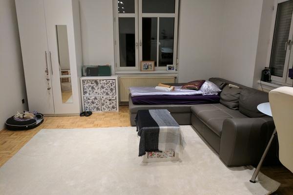 Bequem Riesig Schlafsofa In Grosses Helles Zimmer Short Term Room